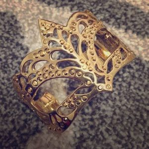 Kate Spade masquerade mask bangle
